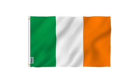 ANLEY Fly Breeze 3x5 FT Irish Flag Vivid Color Ireland IE Banner Flags ac019711-b100-4fec-9e48-63d8ca47e704