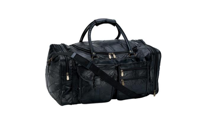 gray stone design embassy italian stone design genuine leather 25 tote bag groupon