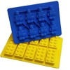 Jollylife Building Bricks and Minifigure Ice Cube Tray