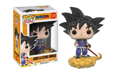 Funko POP Anime: Dragonball Z - Goku & Nimbus Action Figure - Blue c6273d52-fdac-4c46-ba48-2a541738f917
