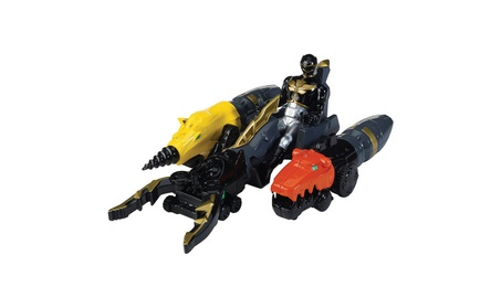 Power Rangers Megaforce Land Brothers Zord Vehicle and Black Ranger a3d09787-05e2-45c2-b932-79a7c277f300