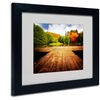 Philippe Sainte-Laudy 'October' Matted Black Framed Art