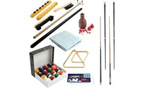 Pool Table Accessory 32 Piece Billiards Kit