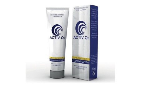 ACTIVO2 Clearing Cleanse Lotion Acne Solution Reduces Blemishes