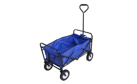 Mac Sports Collapsible Folding Outdoor Utility Wagon  18f4d57d3e