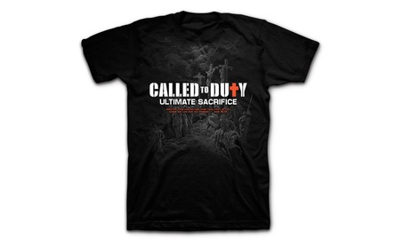 Rying Men's Called to Duty Ultimate Sacrifice Scripture T-Shirt 1e3b5d80-dbe9-4189-8e91-428b47f0a77c