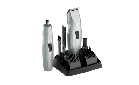 Poweful Men's Battery-Operated Trimmer With Nose Hair Remover 735f6d19-9dd9-4c90-b8ba-1f0ac37f89f5
