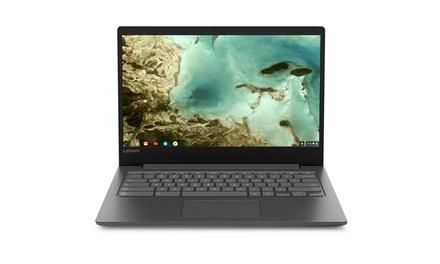 "Lenovo 81JW0001US Chromebook S330, 14"" HD Display, Mediatek MT8173C CPU 4GB Was: $349.99 Now: $239.99."