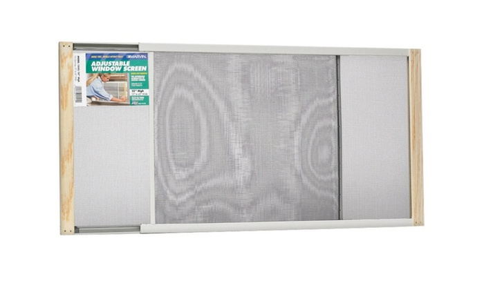 """Marvin AWS1545 Adjustable Window Screen 15"""" Tall, Extends From 26-1/2"""""""