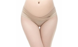 Cotton Under the Bump Maternity Panties Hipsters Briefs Underpants