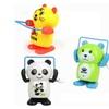 Cartoon Animal Jump Rope Clockwork Toy Tiger Panda  Wind-Up Toy