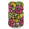 Insten Flower Diamante Hard Case For BlackBerry Bold Touch 9900/9930 Colorful
