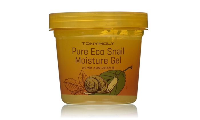 Fuji Labs : Tonymoly Pure Eco Snail Moisture Gel 300ml (Pack of 2)