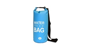 NuPouch 2119 10 Liter Water Proof Bag Light Blue