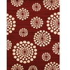 Visions Bombay Red Area Rug
