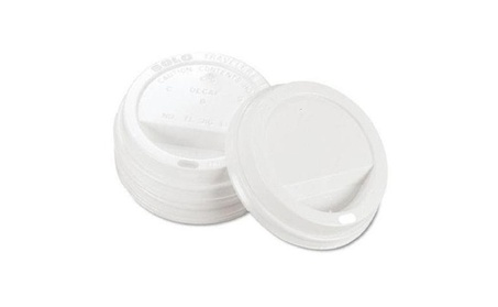 Solo Cup Company TLP316 Traveler Drink-Thru Lid, White 4ef62378-d8c3-4b08-995a-550842e92e94