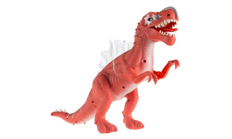 Hey! Play! Toy Dinosaur Moving Action Figure with Lights and Sounds 64876c9a-d5fc-47e2-ae5b-cc3109a1a4a3