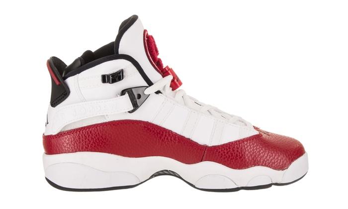 5da64d06c0afc Nike Jordan Kids Jordan 6 Rings BG Basketball Shoe | Groupon