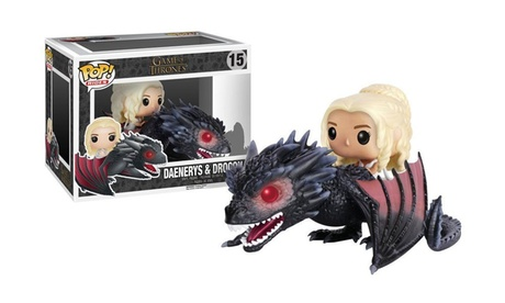 Funko POP Rides: Game of Thrones - Dragon & Daenerys Action Figure f90864e0-f1c9-41ae-ae23-a3e6bd31e40a
