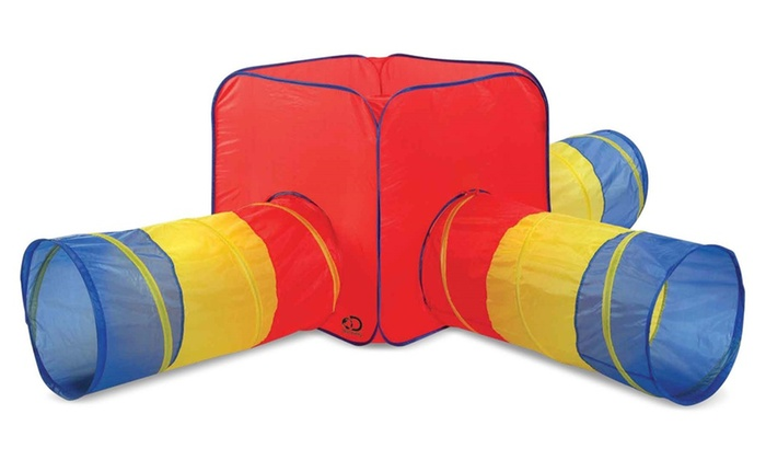 Discovery Play Tent and Tunnels  sc 1 st  Groupon & Discovery Play Tent and Tunnels | Groupon