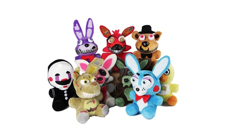 Movie Five Nights at Freddy Action Figure Plush Stuffed Doll Toy Gift 08bef331-ff55-4d59-aada-0c6254c33658