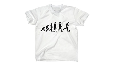 Human Evolution to Soccer. Sports Kids Tee Multiple Colors Available 5316083d-b8ac-4fe5-a9d3-6a6d502ce008