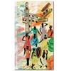 Robert Lulzan 'La Bodeguita' Canvas Art