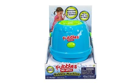 Little Kids - Fubbles No Spill Bubble Machine, Blue and Green 3f0f056a-4d8a-4ccb-b05b-c63442a78623