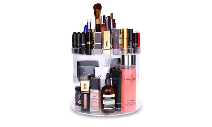 Makeup Organizer   Cosmetic Storage Makeup Tools Holder For Countertop ...