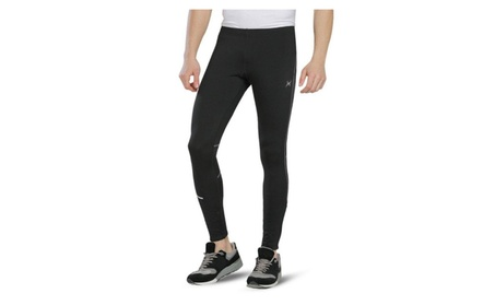 Men's Outdoor Thermal Cycling Running Tights Active Workout Running