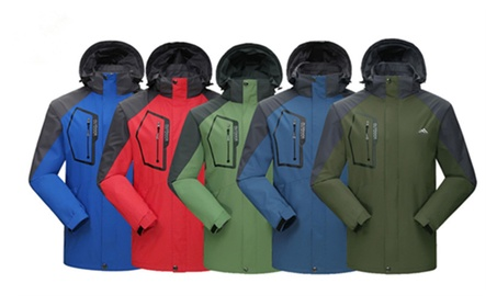 Mens Light Weight Outdoor Hooded Windbreaker Sports Outwear Jacket 0b62dfe6-0318-49e2-b72a-0c9e38d45ffd