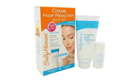 Sally Hansen Creme Hair Remover Kit for Face Hair Remover 11748ec0-cc6c-483d-968c-308f58419690