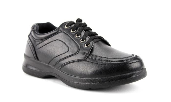 Men S Wz14024 Slip Resistant Lace Up Restaurant Oxfords Work Shoes