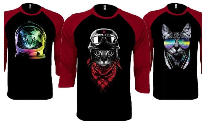 Cat Lover Baseball Raglan Shirts
