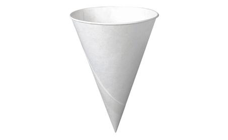 R3 Redistribution 6R-2050 6 Oz White Cone Paper Cups 200 Count 4f417c85-585a-4a3d-b922-dd74c4b758f1