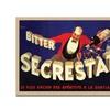 'Bitter Secrestat' Canvas Rolled Art