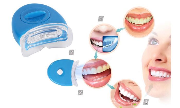 Tooth Whitening Gel Dental Teeth Whitening Light Led Groupon