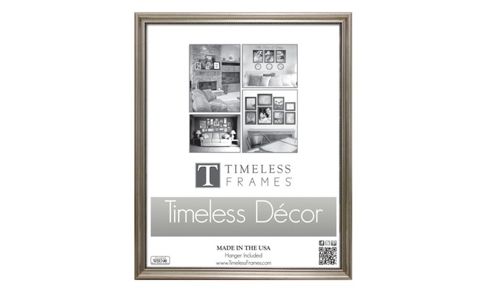 Timeless Frames 78035 Astor Silver Wall Frame, 8 x 10 in. | Groupon