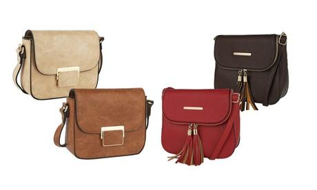 MKF Collection Structured Crossbody Handbags by Mia K Farrow c09c1dfa-d672-4a08-89a6-fd4025a0858e