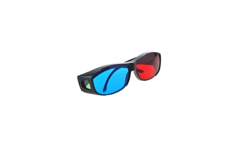 Red Blue 3D Glasses Frame for Dimensional Anaglyph Movie DVD Game bcd50fde-6739-443a-9908-bbbd24f434d3