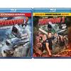 Sharknado 1, 2, and 3 on Blu-Ray