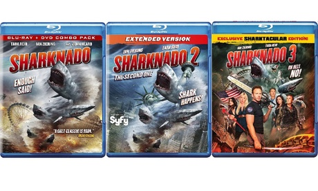 Sharknado 1,2, and 3 Collection Set cb8e4ef4-c6b6-4382-90c1-c4d42caedead