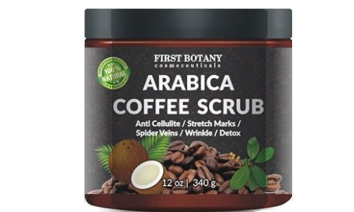 Arabica Coffee Scrub With Organic Coffee Coconut