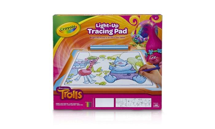 Light Up Tracing Pad Kids Art Tools Drawing Board Sketch Bright LEDs