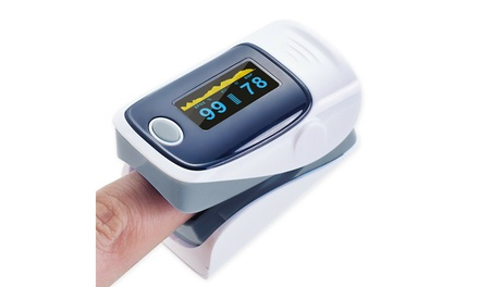 Blood Oxygen Meter SpO2 Monitor Fingertip Pulse Oximeter New!