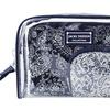 Jacki Design Mystique 3 Pc Cosmetic Bag Set - Blue