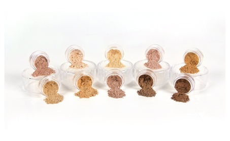 Foundation Sampler Kit Mineral Makeup Powder (8 Shades Of Foundation) 5d929749-b9b3-40c9-a0bd-7ccd03c23cab