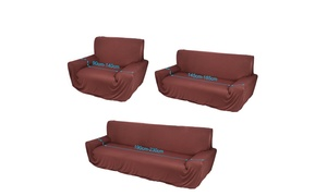 1 2 3 Seater Sofa Cover Slipcover Stretch Elastic Couch Home Furniture