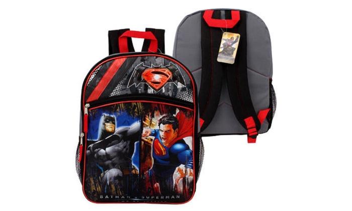 16 Batman Vs Superman Half Moon Basic Backpack