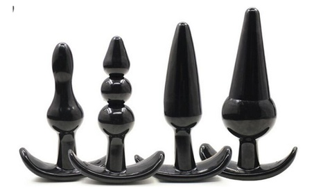 Sxtoy4u 4 Pieces Huge Adult Personal Anal Plugs Set 694a1dbe-f5c5-4d2a-8616-e10ad660cfd4